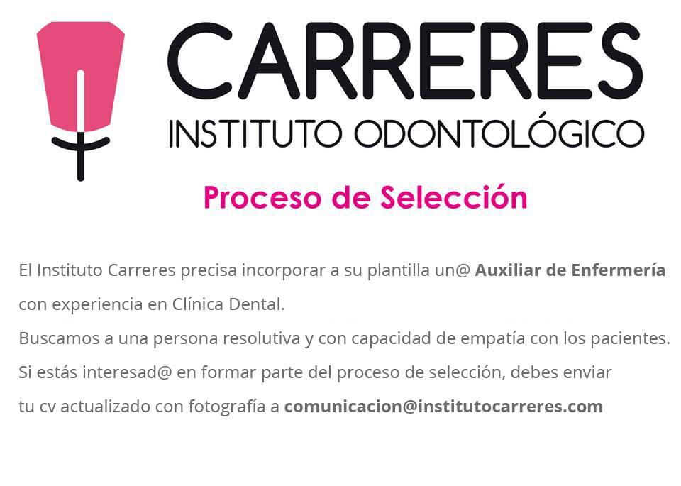 Proceso de Selección de personal Instituto Carreres